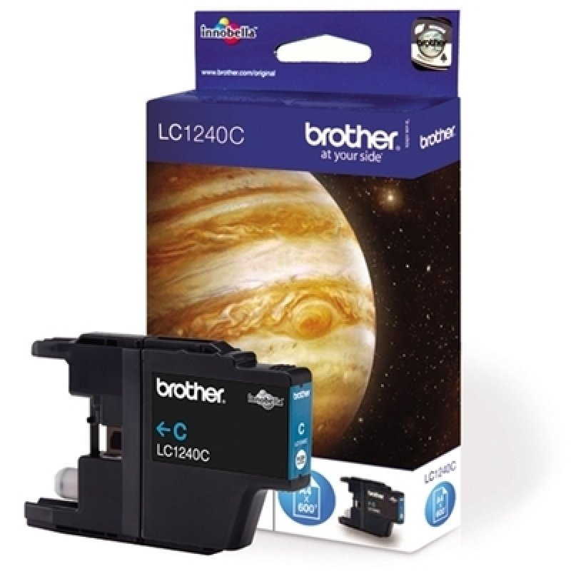 *Brother LC1240C Standard Yield Cyan Toner Cartridge
