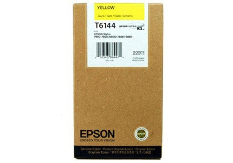 Epson T6144 Yellow Ink Cartridge