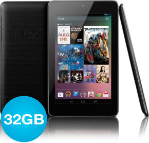 "Asus Nexus 7 32GB Tablet PC, NVIDIA Tegra 3 Quad Core, 1GB RAM, 32GB Flash, 7"" Touch, Wifi, Camera, Bluetooth, Android 4.4"