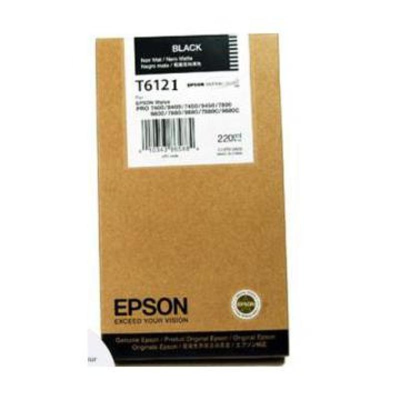 Epson T6121 Photo Black Ink Cartridge