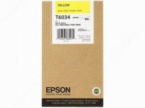 Epson T6034 Yellow Ink Cartridges