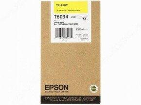 Epson T6034 Yellow Ink Cartridges