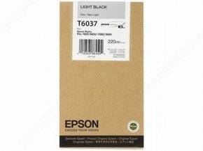 Epson T6037 Light Black Ink Cartridge