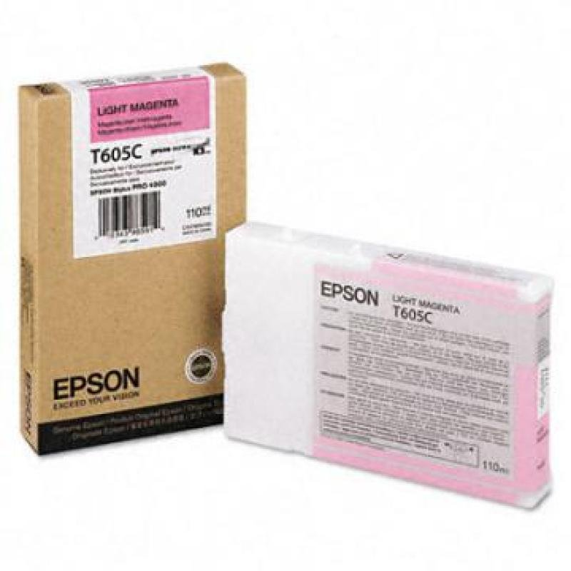 Epson T605C Light Magenta Ink Cartridge