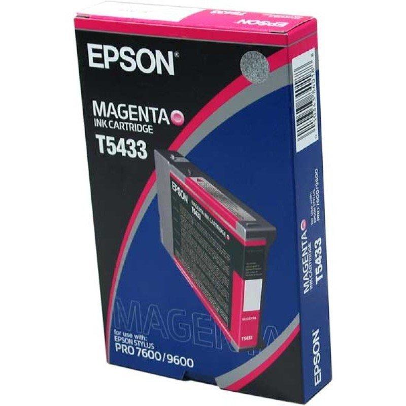 Epson T5433 Pigmented Magenta Ink Cartridge