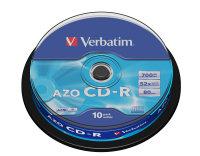 Verbatim 52x CD-R 700MB 10 Pack Spindle