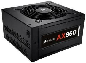 Corsair AX 860W Fully Modular 80+ Platinum Power Supply