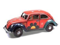 Tinplate JLC999LP-R 1934 Volkswagen Beetle Scale 1:12 Red