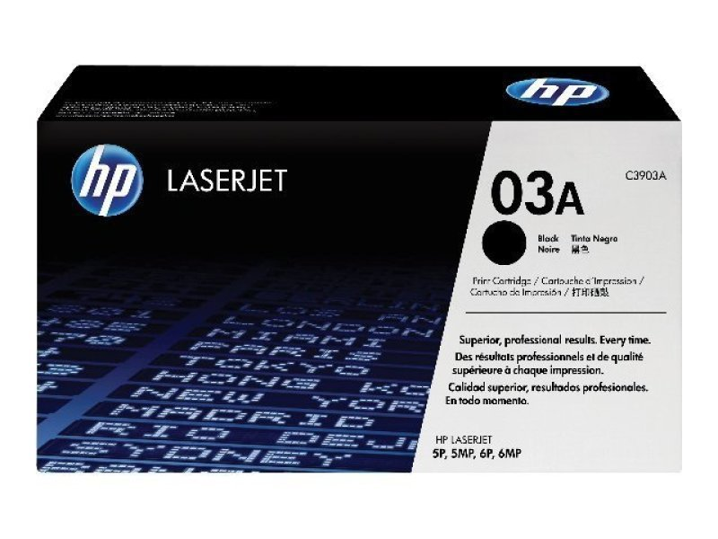 HP 03A Black Toner Cartridge - C3903A