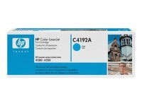 HP C4192A Cyan Toner Cartridge 6000 Pages