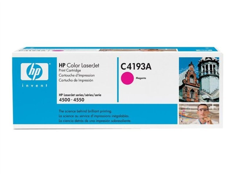 HP C4193A Magenta Toner Cartridge 6000 Pages