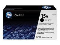 HP 15A Black Toner Cartridge 2500 Pages - C7115A