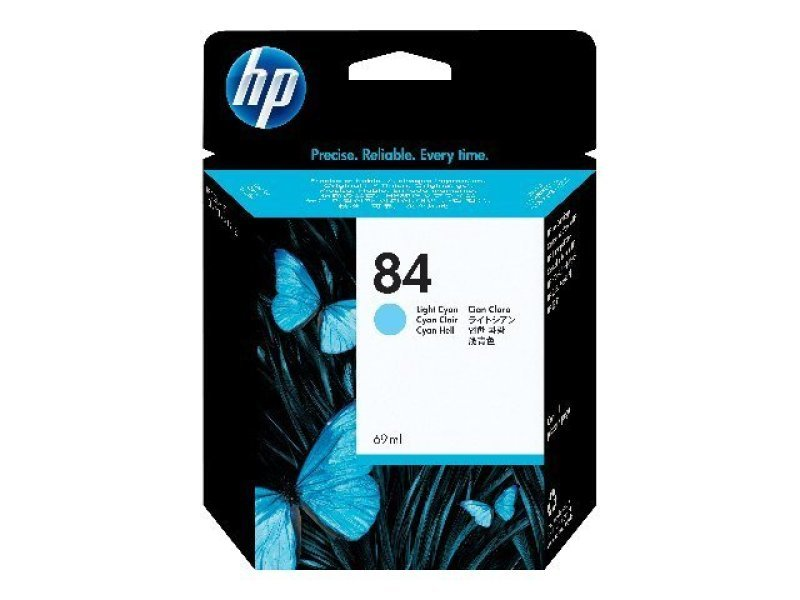 HP 84 69ml Light Cyan Ink Cartridge  C5017A