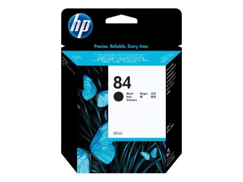HP 84 Black Original Ink Cartridge - High Yield 69ml - C5016A
