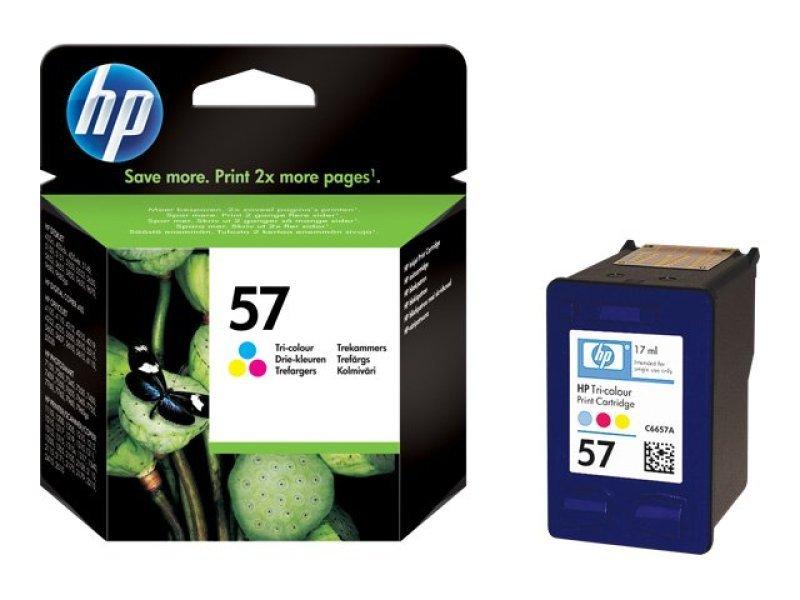 HP 57 Colour Ink Cartridge - C6657AE