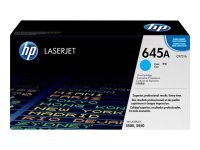 HP 645A Cyan Toner Cartridge - C9731A