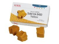 Xerox Solid Ink Sticks 3 Yellow for Phaser 8400 108R00607