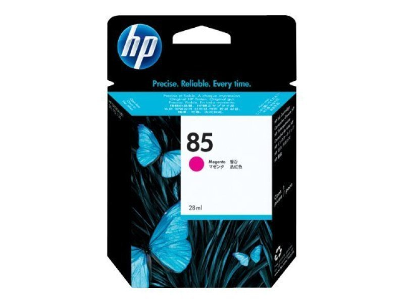 HP 85 Magenta Original Ink Cartridge - Standard Yield	28ml - C9426A