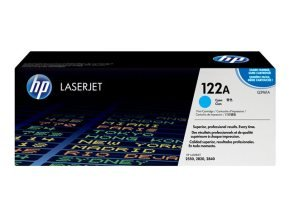 HP 122A Cyan Toner Cartridge 4000 Pages - Q3961A