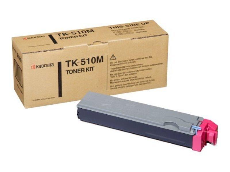 Kyocera TK 510M Magenta Laser Toner Cartridge