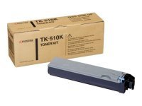 Kyocera TK-510K Black Laser Toner Cartridge 8000 Pages