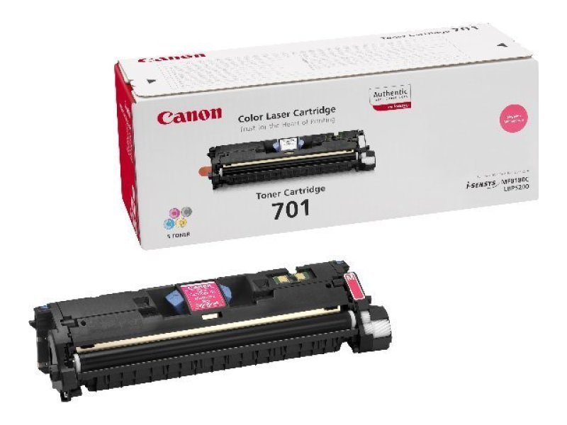 Canon 701 High Yield Magenta Laser Toner Cartridge 4000 Pages