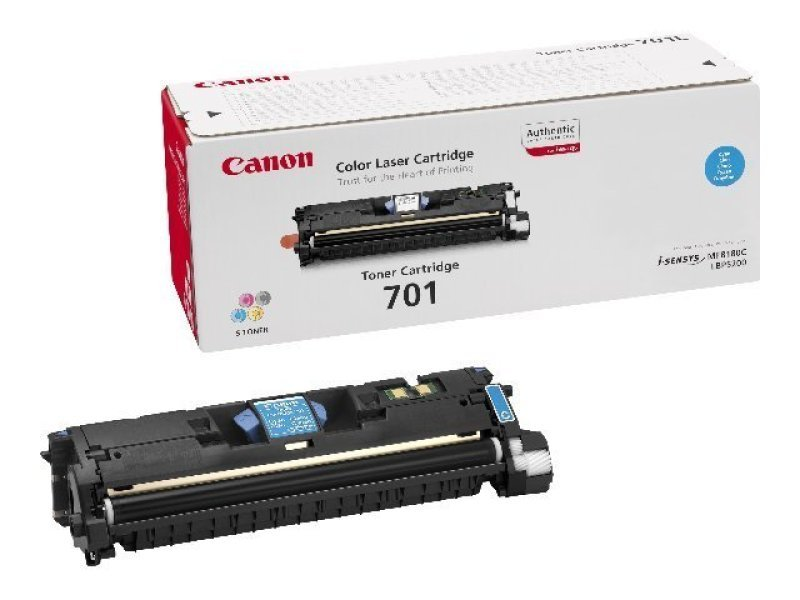 Canon 701 High Yield Cyan Laser Toner Cartridge 4000 Pages
