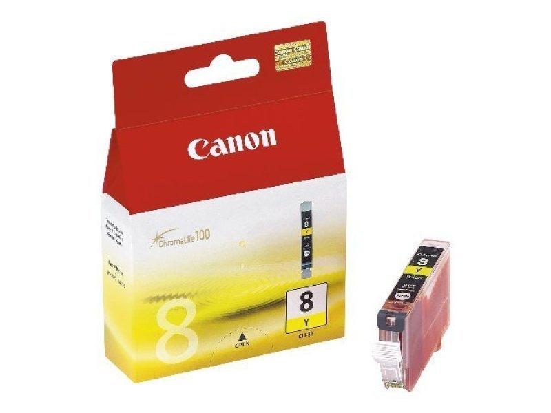 Canon CLI 8Y Yellow Ink Cartridge
