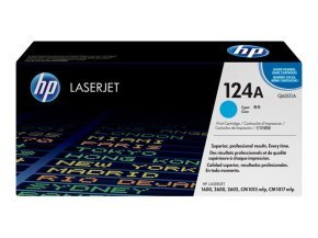 *HP 124A Cyan Toner Cartridge 2000 Pages - Q6001A