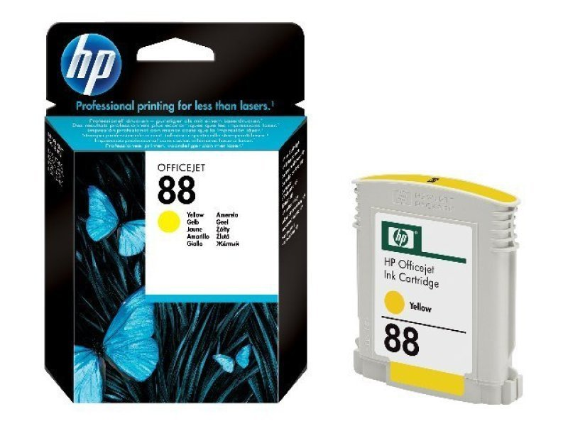 *HP 88 Yellow Ink Cartridge - C9388AE