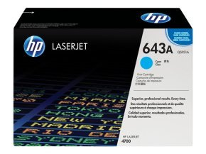 *HP 643A Cyan Toner Cartridge - Q5951A