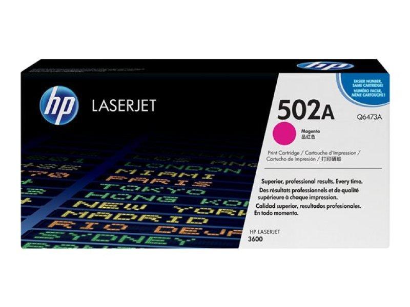 HP 502A Magenta Toner cartridge 4000 Pages - Q6473A