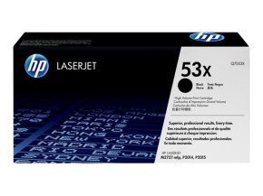 HP 53X Black Toner cartridge - Q7553X