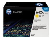 HP 642A Yellow Toner Cartridge 7500 Pages - CB402A