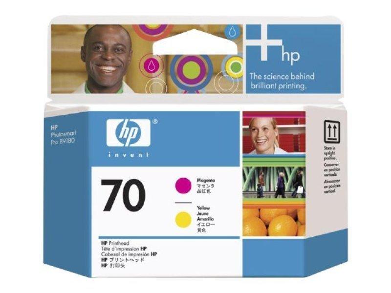HP 70 Magenta & Yellow Printhead  C9406A