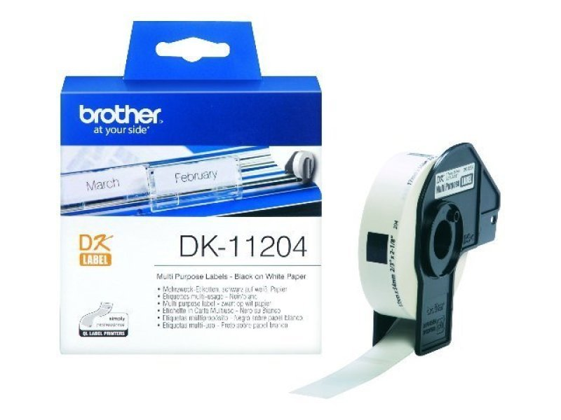 Brother DK11204 Single Labels
