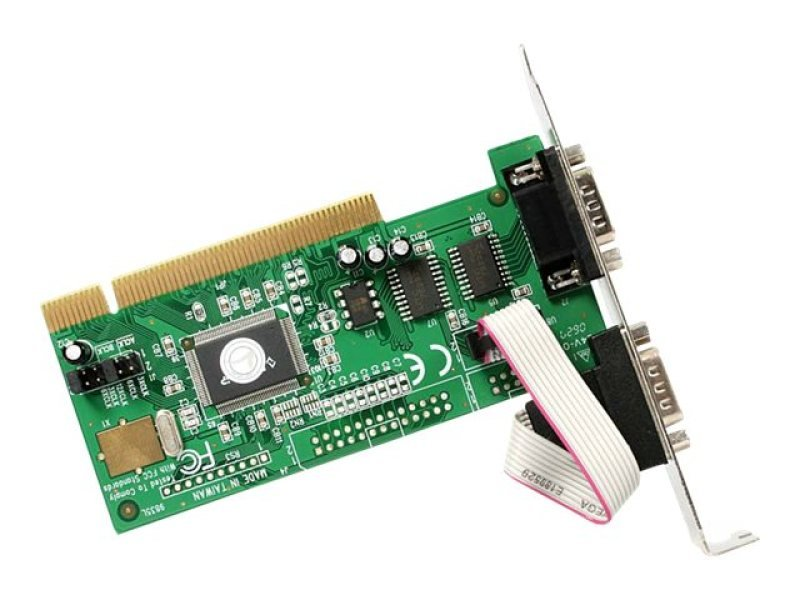 StarTech.com StarTech.com Serial adapter card - PCI - serial - 2 ports