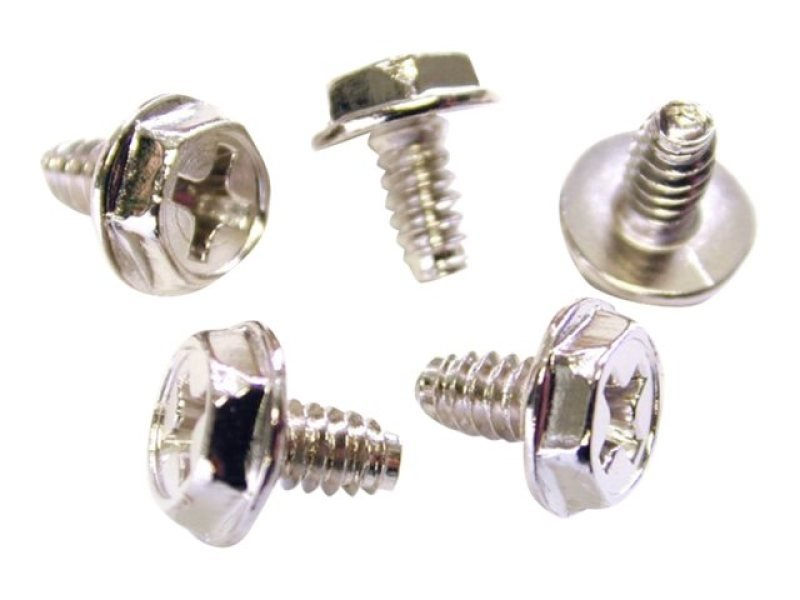 Startech Screws #6-32 X 1/4 Long - Pack Of 50 Uk