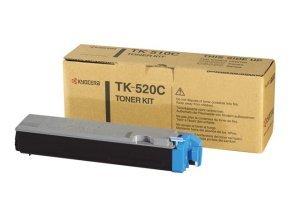 Kyocera TK 520C Cyan Laser Toner Cartridge - 4000 Pages