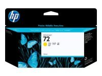 HP 72 Yellow Original Ink Cartridge - High Yield 130ml - C9373A