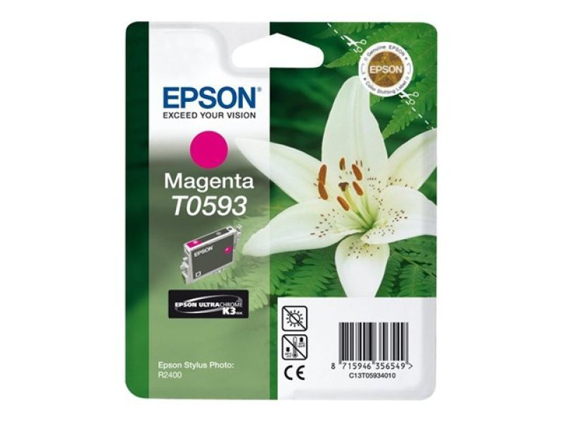 Epson T0593 13ml Magenta Ink Cartridge