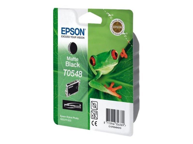 Epson T0548 Pigmented Matte Black Ink Cartridge