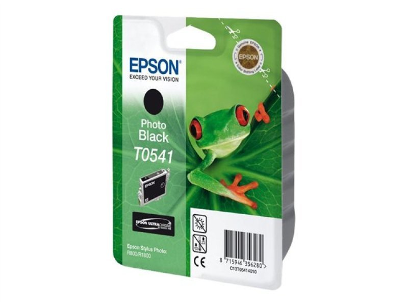 Epson T0541 13ml Pigmented Photo Black Ink Cartridge