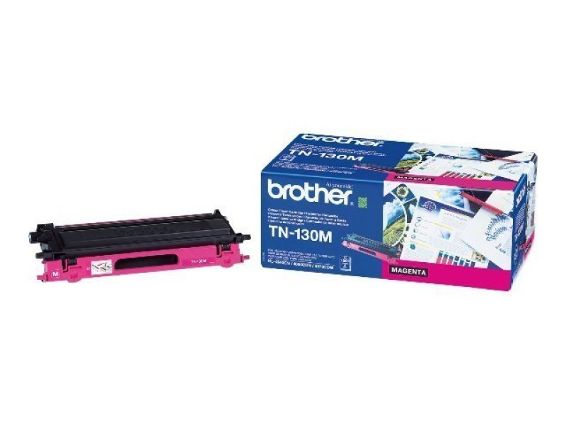 Brother TN-130M Magenta Toner Cartridge - 1,500 Pages