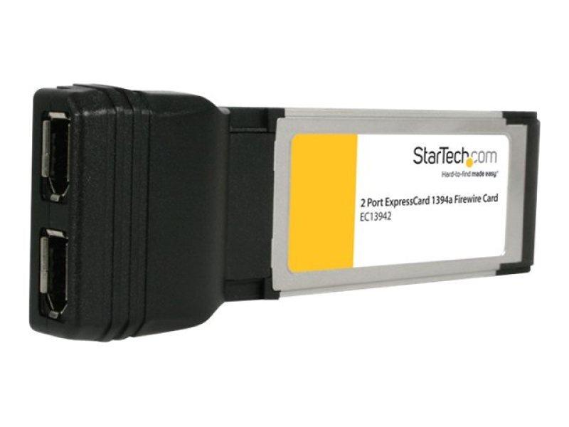 Startech 2 Port ExpressCard Laptop 1394a Firewire Adapter Card