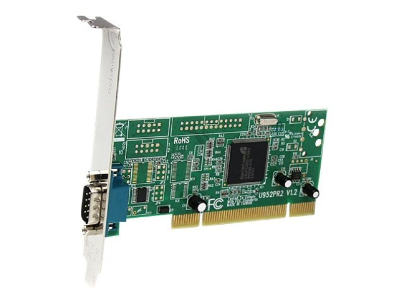 Startech 1 Port PCI 16950 RS-232 Dual Voltage / Dual Profile Serial Card