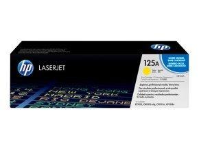 HP 125A Yellow Toner Cartridge - CB542A