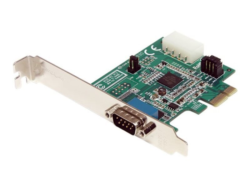 Startech 1 Port PCI Express RS232 Serial - Adapter Card With 16950 UART Uk