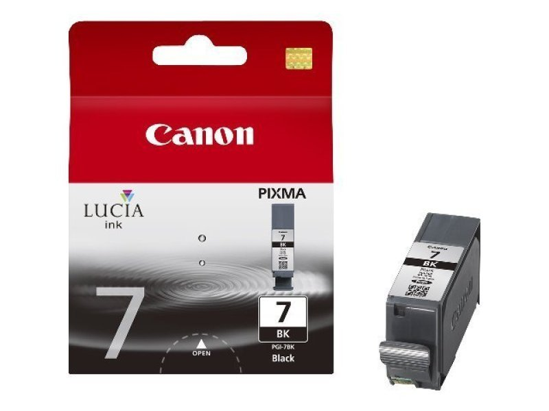 Canon PGI 7BK Pigmented Black Ink Cartridge