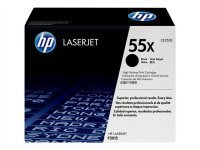 HP 55X Black Toner cartridge - CE255X